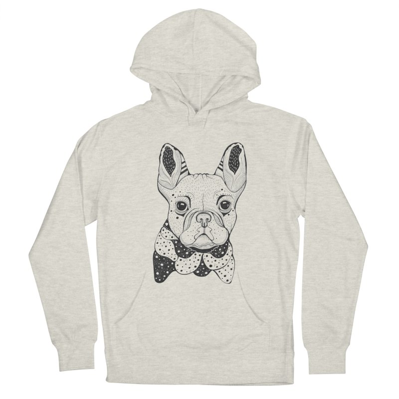 French Bulldog Men's Pullover Hoody by mmuffn's Artist Shop
