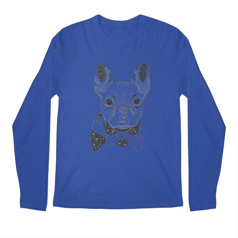 French Bulldog Men's Longsleeve T-Shirt by mmuffn's Artist Shop