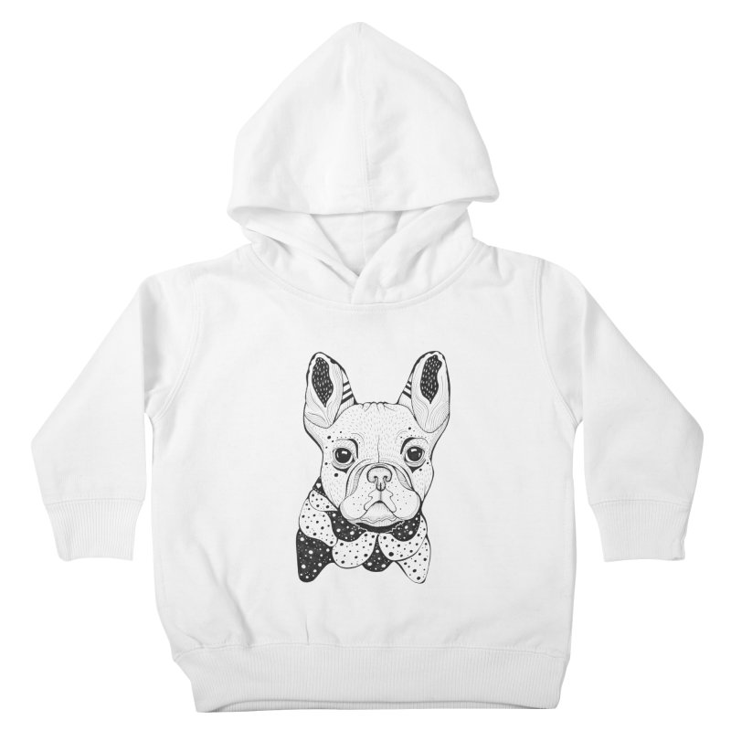 French Bulldog Kids Toddler Pullover Hoody by mmuffn's Artist Shop