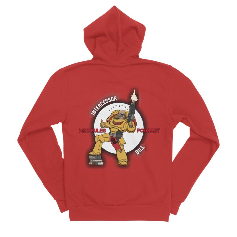 Intercessor Bill! Women's Zip-Up Hoody by Mob Rules Podcast