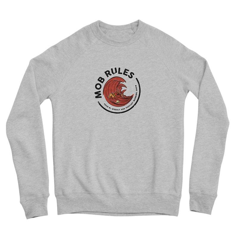 Mob Zerker Logo Men's Sponge Fleece Sweatshirt by Mob Rules Podcast