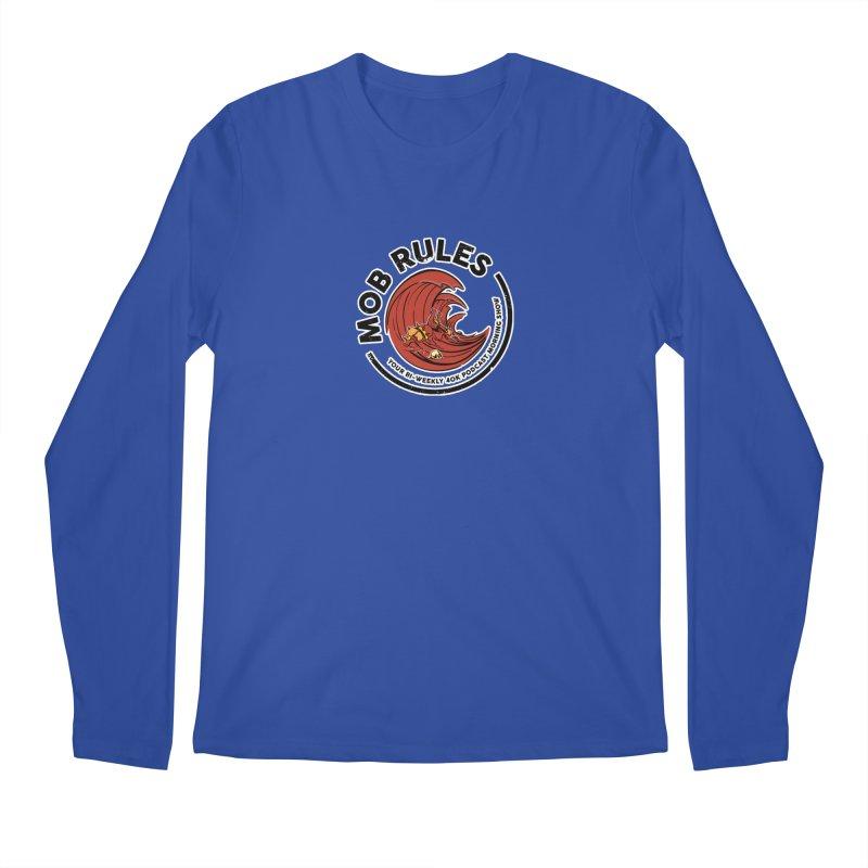 Mob Zerker Logo Men's Regular Longsleeve T-Shirt by Mob Rules Podcast