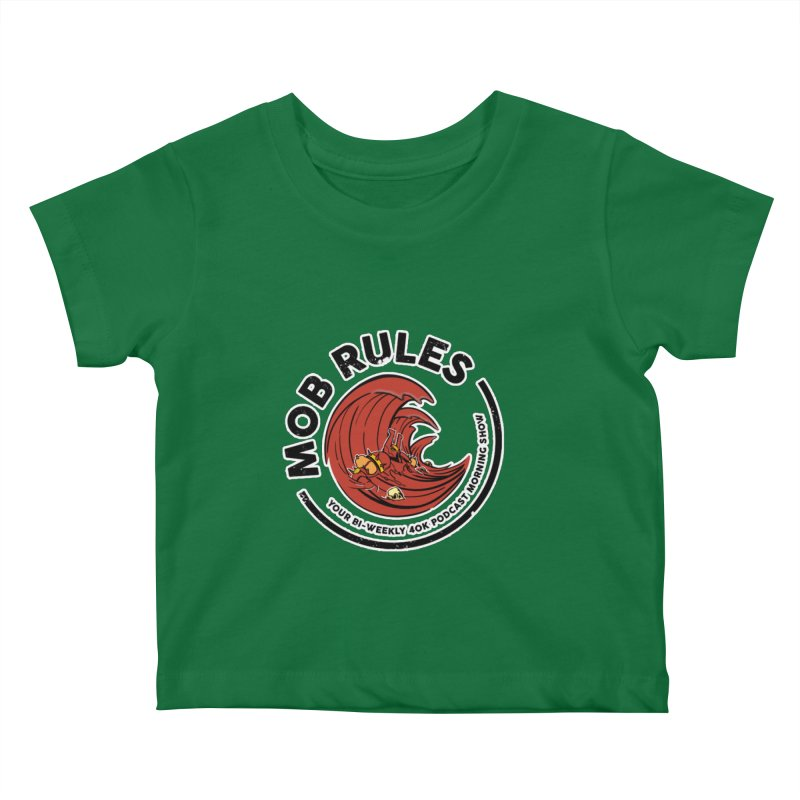 Mob Zerker Logo Kids Baby T-Shirt by Mob Rules Podcast