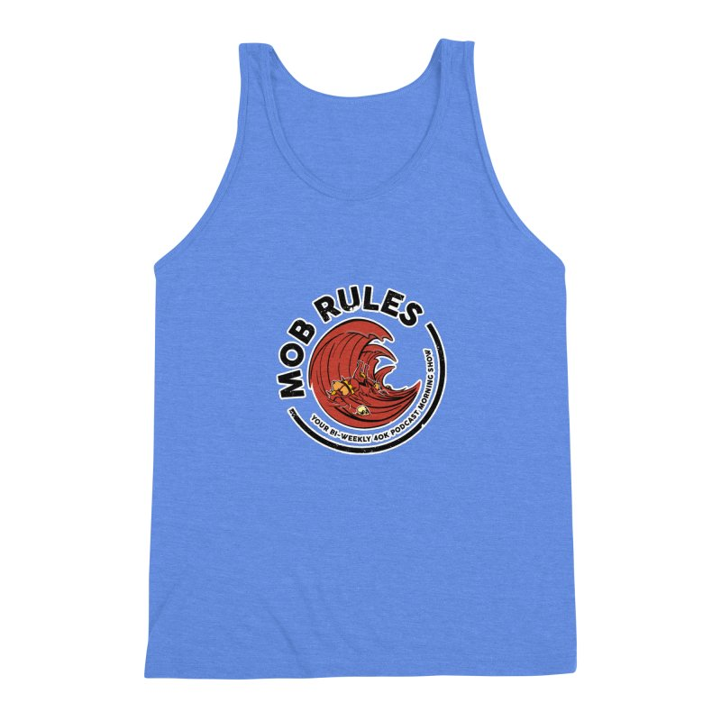 Mob Zerker Logo Men's Triblend Tank by Mob Rules Podcast
