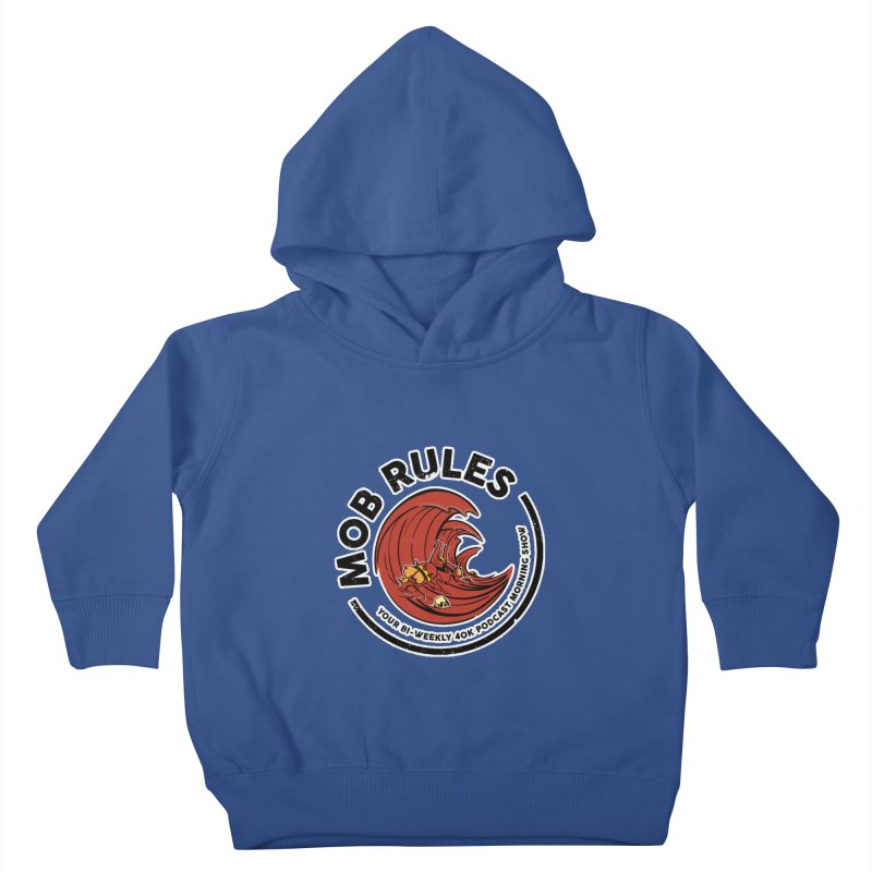 Mob Zerker Logo Kids Toddler Pullover Hoody by Mob Rules Podcast