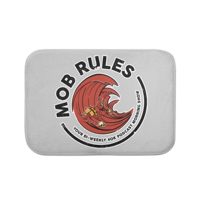 Mob Zerker Logo Home Bath Mat by Mob Rules Podcast