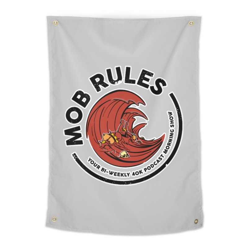 Mob Zerker Logo Home Tapestry by Mob Rules Podcast