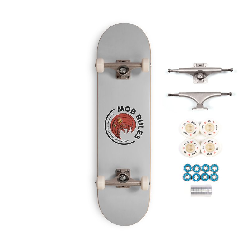 Mob Zerker Logo Accessories Complete - Premium Skateboard by Mob Rules Podcast