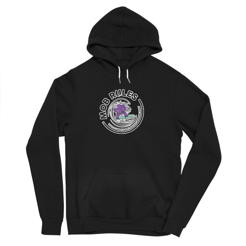 Mob Rules Dreadnought Logo Men's Sponge Fleece Pullover Hoody by Mob Rules Podcast