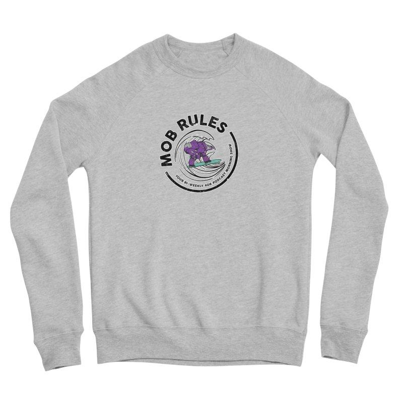 Mob Rules Dreadnought Logo Men's Sponge Fleece Sweatshirt by Mob Rules Podcast