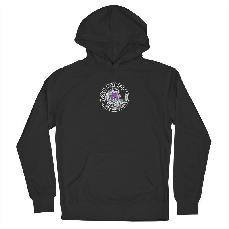 Mob Rules Dreadnought Logo Men's Pullover Hoody by Mob Rules Podcast
