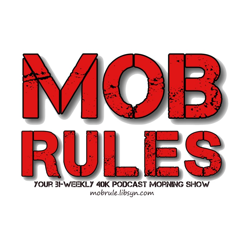 Mob Rules Logo Text Women's Longsleeve T-Shirt by Mob Rules Podcast