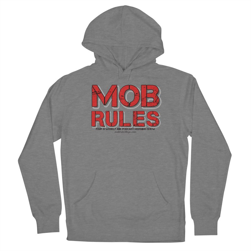 Mob Rules Logo Text Women's Pullover Hoody by Mob Rules Podcast