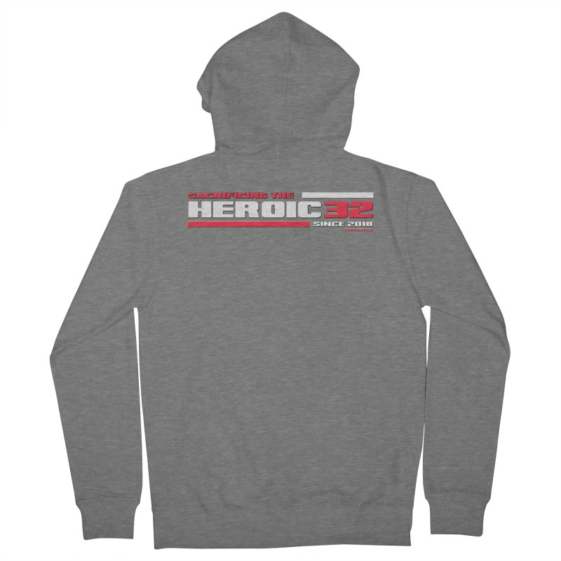 The Heroic 32 Women's Zip-Up Hoody by Mob Rules Podcast