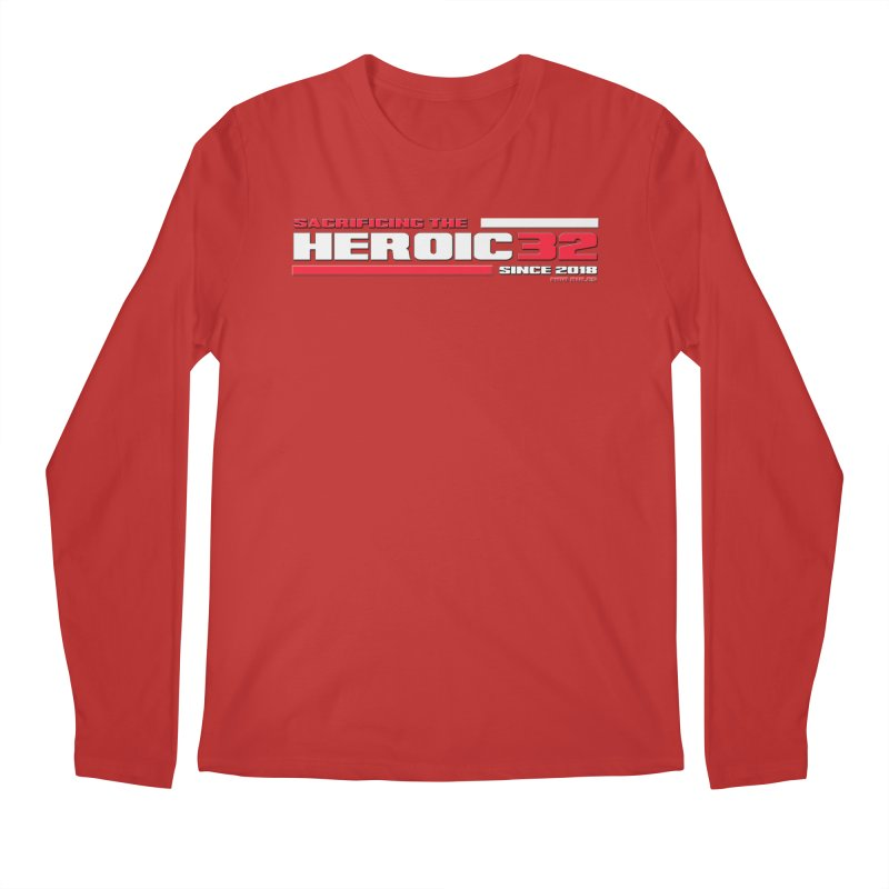 The Heroic 32 Men's Regular Longsleeve T-Shirt by Mob Rules Podcast