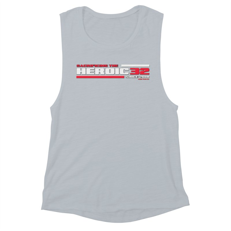 The Heroic 32 Women's Muscle Tank by Mob Rules Podcast