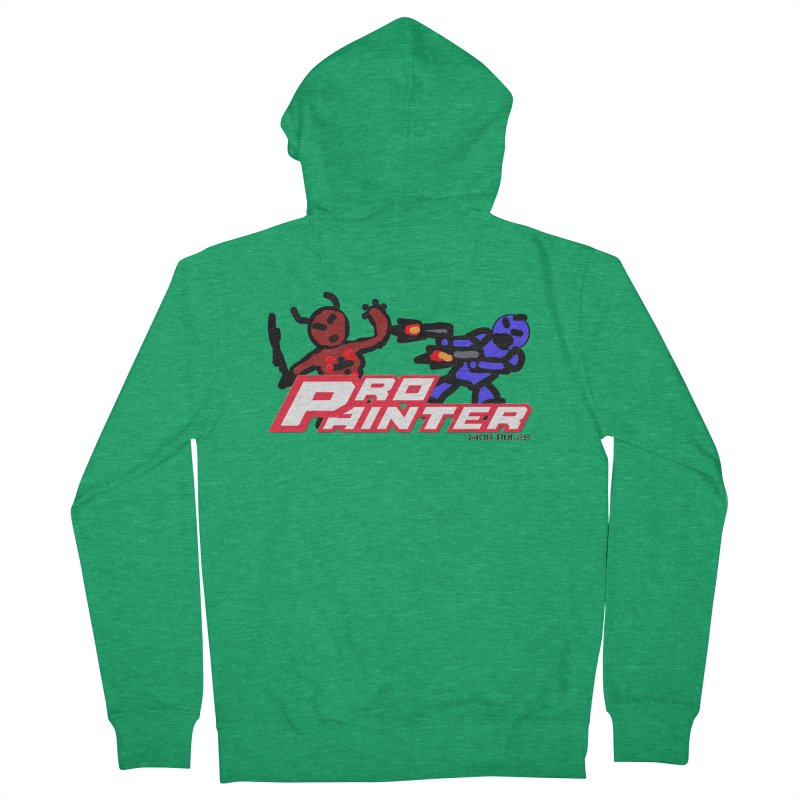 Pro Painter Men's Zip-Up Hoody by Mob Rules Podcast