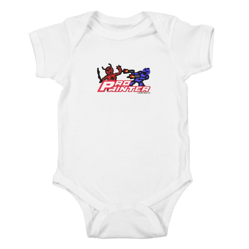 Pro Painter Kids Baby Bodysuit by Mob Rules Podcast