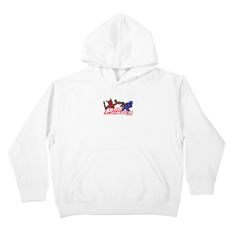 Pro Painter Kids Pullover Hoody by Mob Rules Podcast