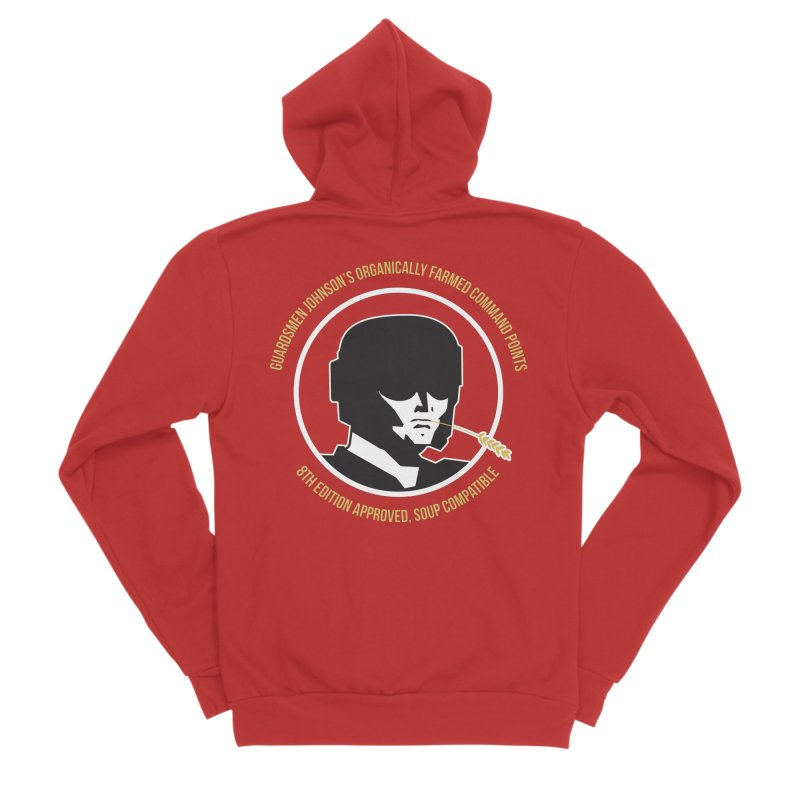 Guardsman Johnson's Organically Farmed Command Points Women's Zip-Up Hoody by Mob Rules Podcast