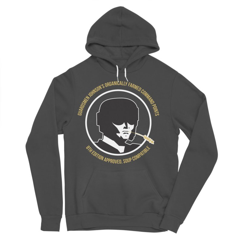 Guardsman Johnson's Organically Farmed Command Points Women's Sponge Fleece Pullover Hoody by Mob Rules Podcast