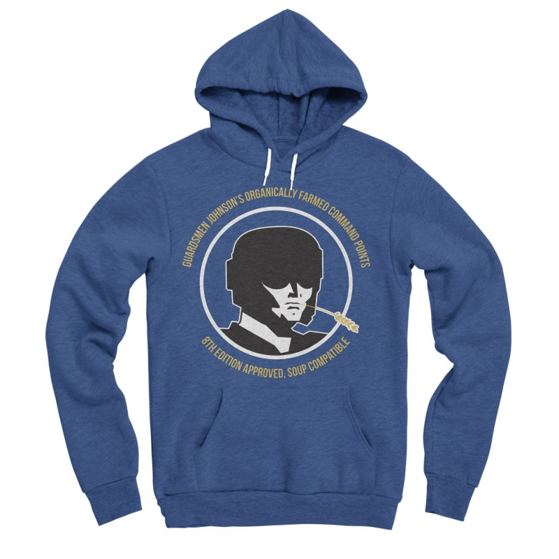 Guardsman Johnson's Organically Farmed Command Points Men's Sponge Fleece Pullover Hoody by Mob Rules Podcast