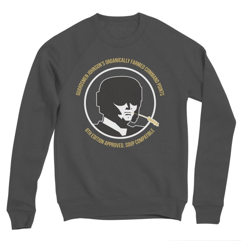 Guardsman Johnson's Organically Farmed Command Points Women's Sponge Fleece Sweatshirt by Mob Rules Podcast