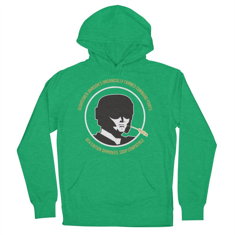 Guardsman Johnson's Organically Farmed Command Points Women's French Terry Pullover Hoody by Mob Rules Podcast