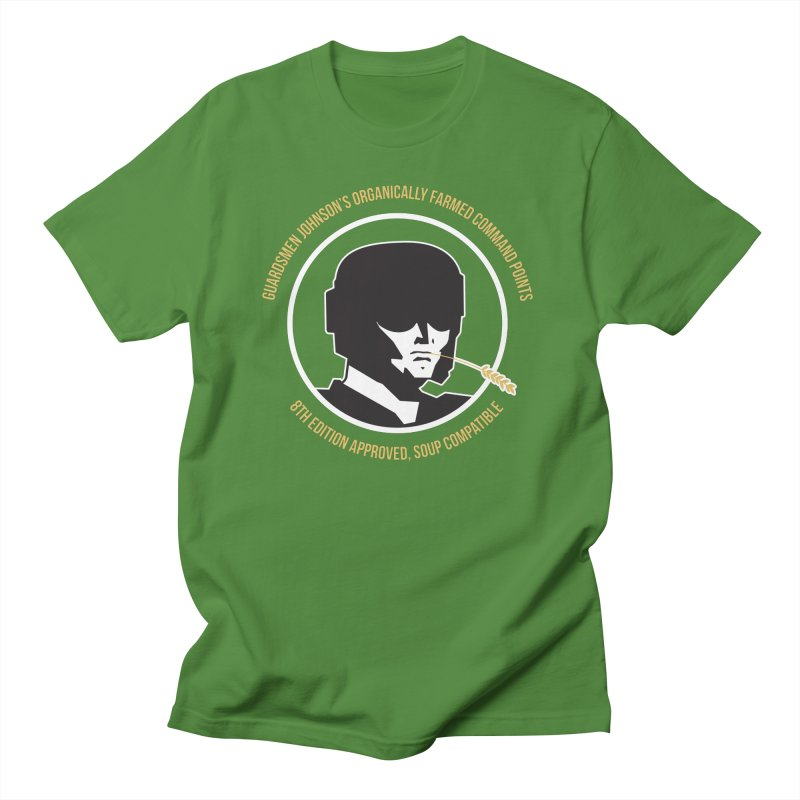 Guardsman Johnson's Organically Farmed Command Points Women's Regular Unisex T-Shirt by Mob Rules Podcast