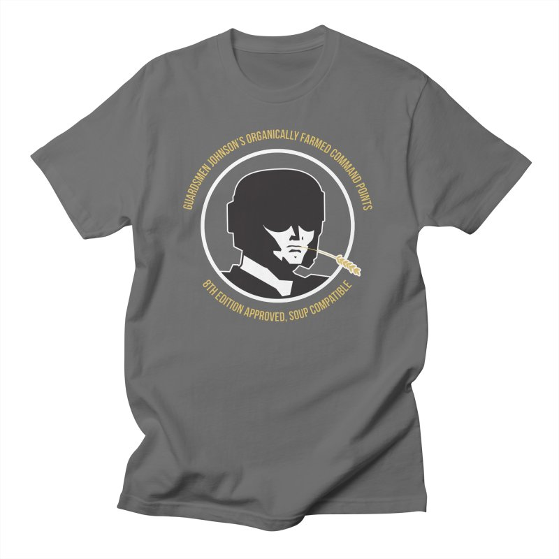 Guardsman Johnson's Organically Farmed Command Points Men's T-Shirt by Mob Rules Podcast