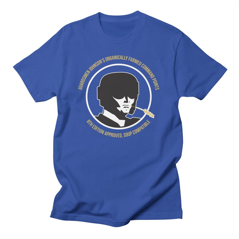 Guardsman Johnson's Organically Farmed Command Points Men's Regular T-Shirt by Mob Rules Podcast