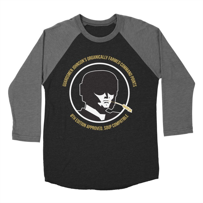 Guardsman Johnson's Organically Farmed Command Points Women's Baseball Triblend Longsleeve T-Shirt by Mob Rules Podcast