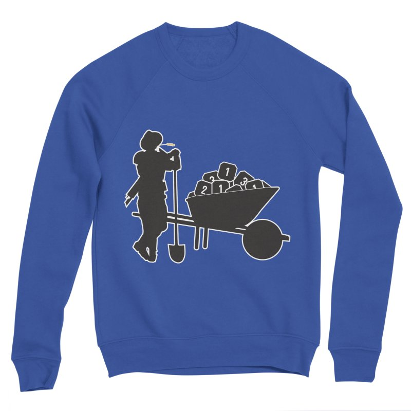 Heroic Farms Men's Sweatshirt by Mob Rules Podcast