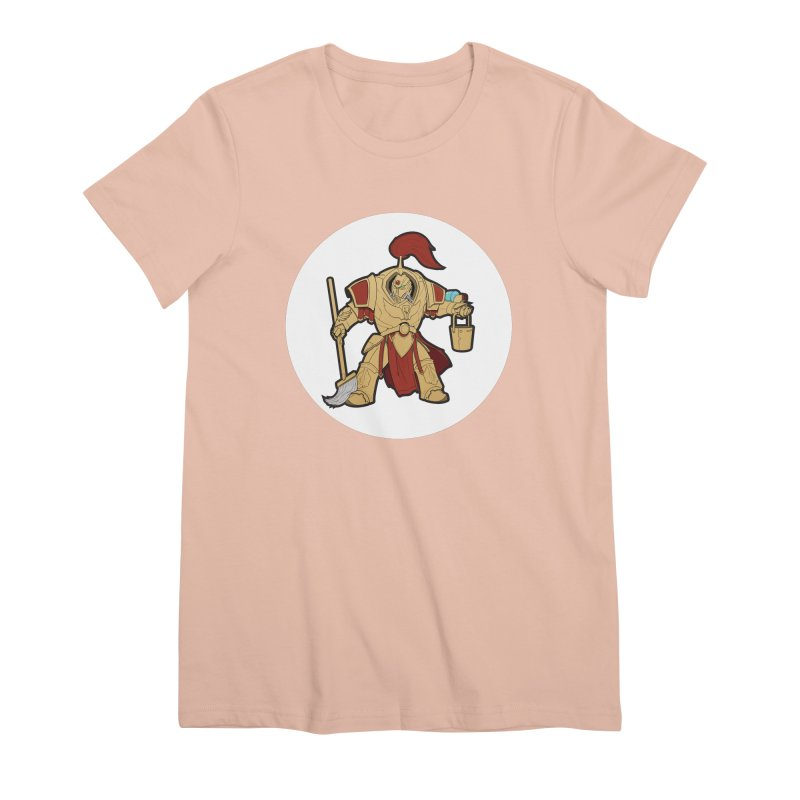 Jeff the Custodes 2.0 Women's Premium T-Shirt by Mob Rules Podcast