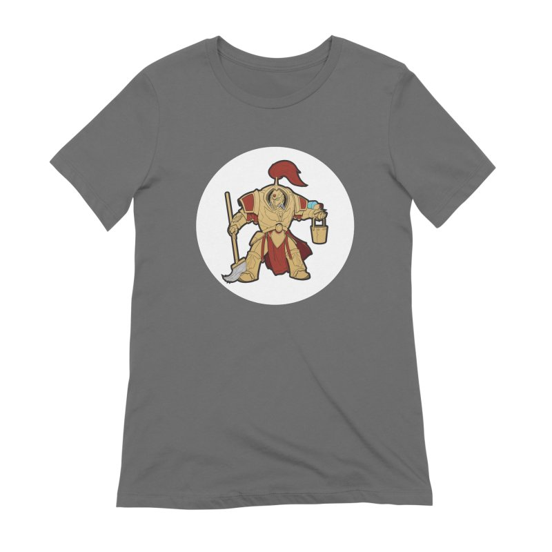 Jeff the Custodes 2.0 Women's Extra Soft T-Shirt by Mob Rules Podcast