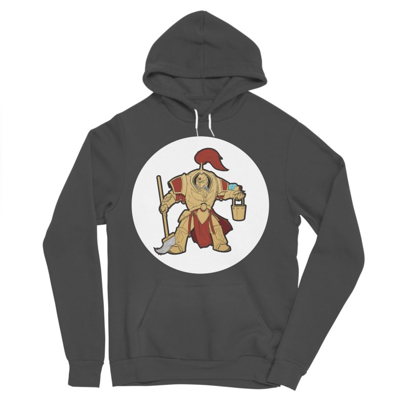 Jeff the Custodes 2.0 Men's Sponge Fleece Pullover Hoody by Mob Rules Podcast