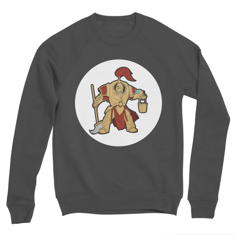 Jeff the Custodes 2.0 Women's Sponge Fleece Sweatshirt by Mob Rules Podcast