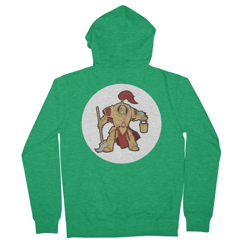 Jeff the Custodes 2.0 Men's Zip-Up Hoody by Mob Rules Podcast