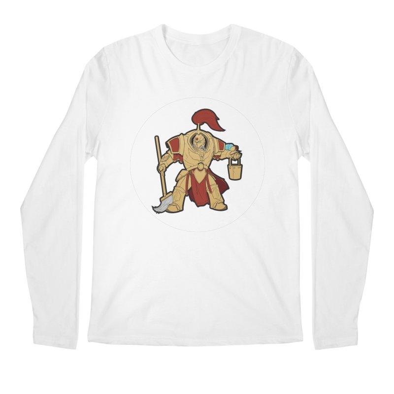 Jeff the Custodes 2.0 Men's Regular Longsleeve T-Shirt by Mob Rules Podcast