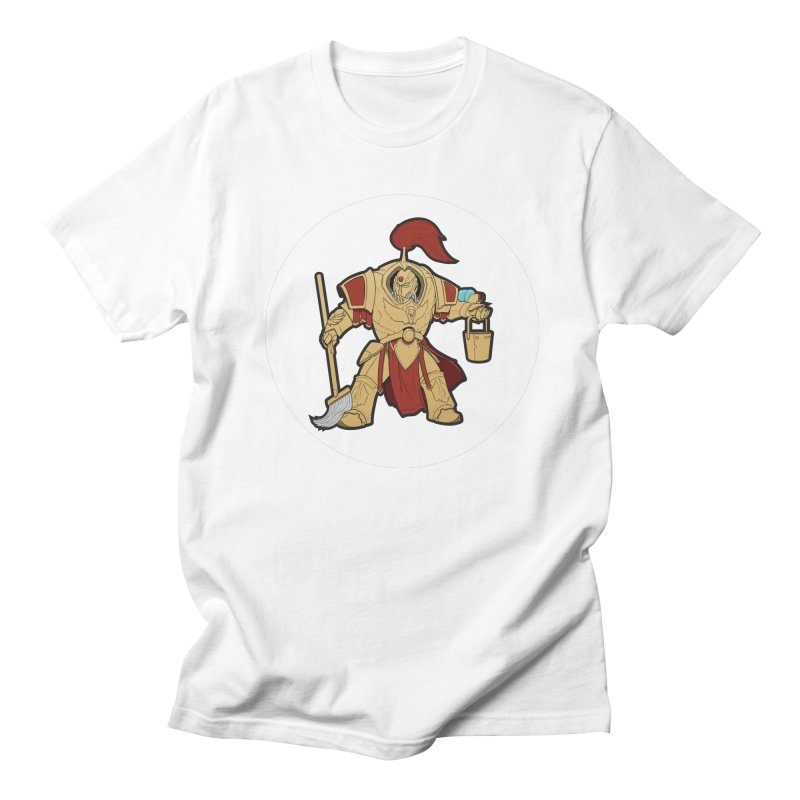 Jeff the Custodes 2.0 Men's Regular T-Shirt by Mob Rules Podcast