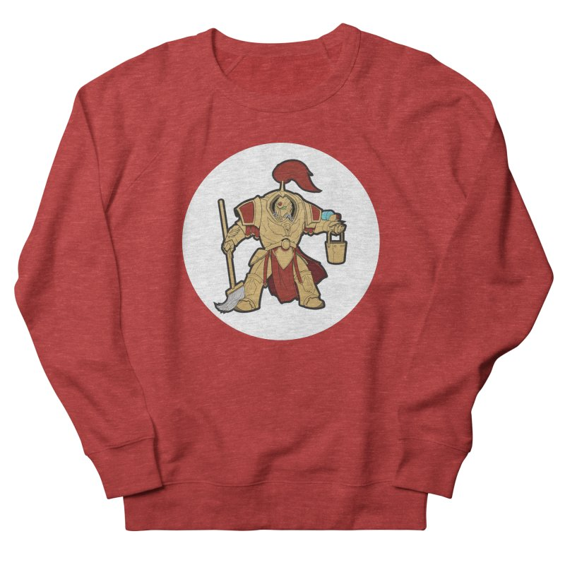 Jeff the Custodes 2.0 Men's French Terry Sweatshirt by Mob Rules Podcast