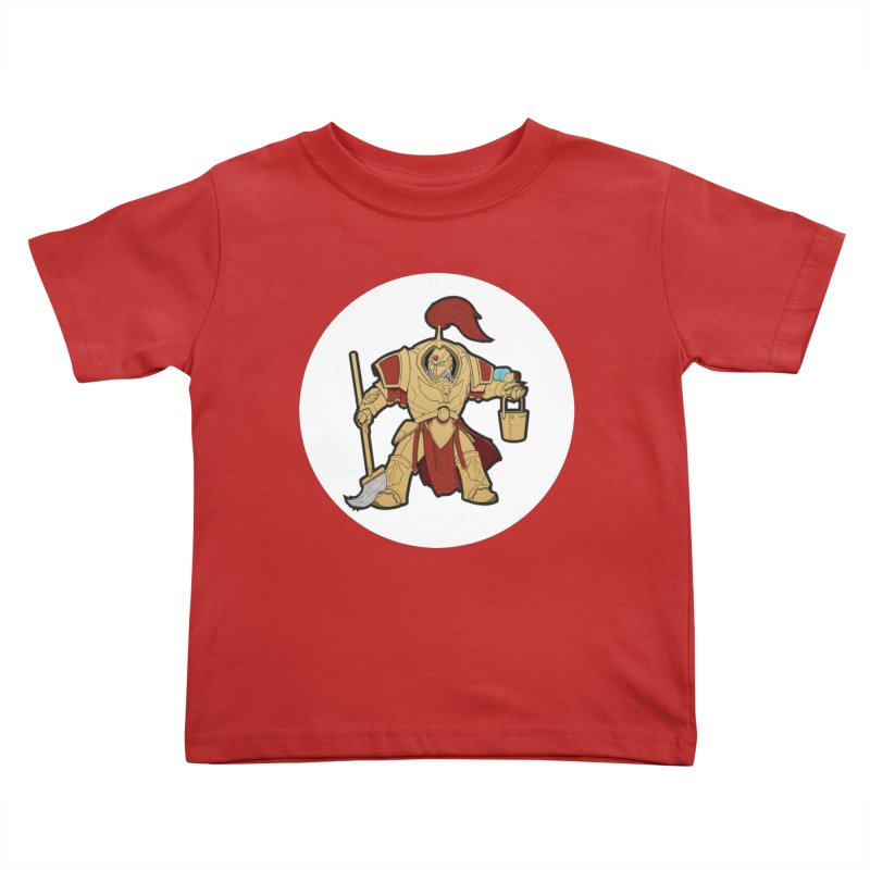 Jeff the Custodes 2.0 Kids Toddler T-Shirt by Mob Rules Podcast