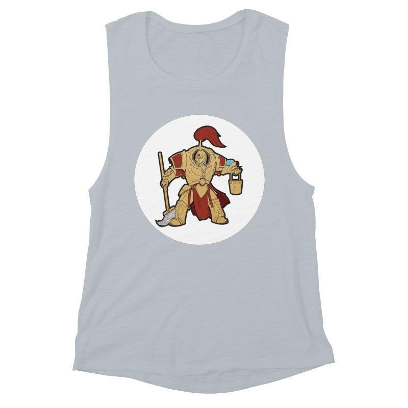 Jeff the Custodes 2.0 Women's Muscle Tank by Mob Rules Podcast