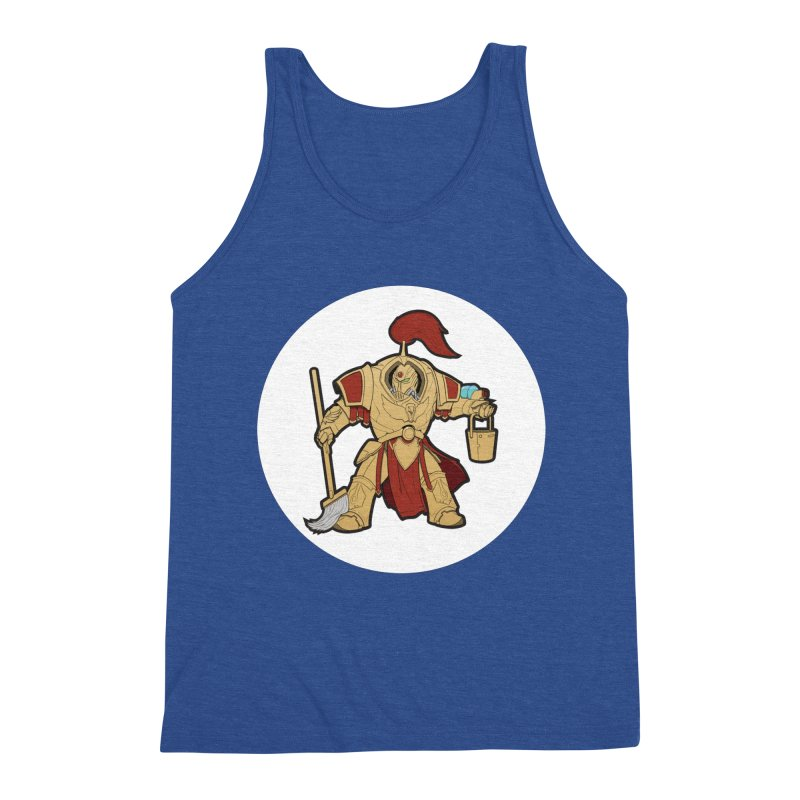 Jeff the Custodes 2.0 Men's Triblend Tank by Mob Rules Podcast