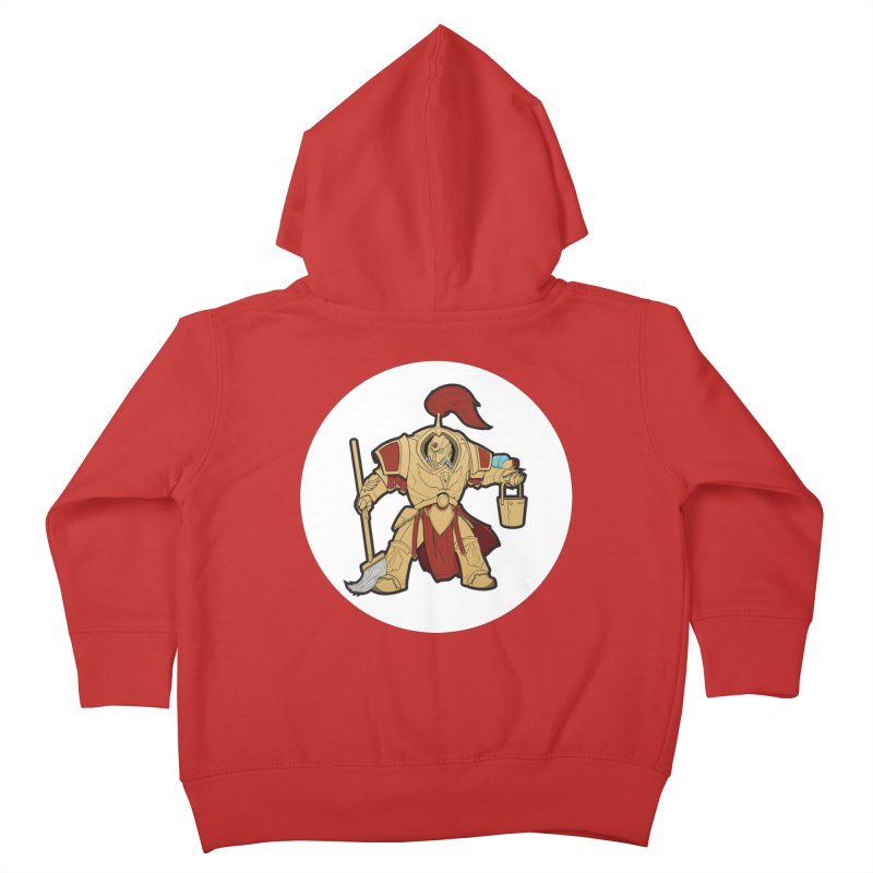 Jeff the Custodes 2.0 Kids Toddler Zip-Up Hoody by Mob Rules Podcast