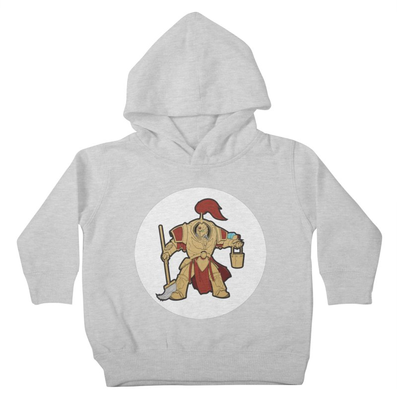 Jeff the Custodes 2.0 Kids Toddler Pullover Hoody by Mob Rules Podcast