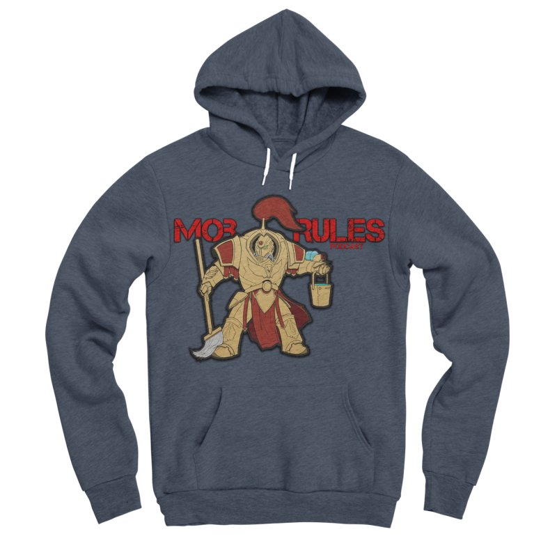 Jeff the Custodes 2.0 Mob Rules Logo Women's Sponge Fleece Pullover Hoody by Mob Rules Podcast