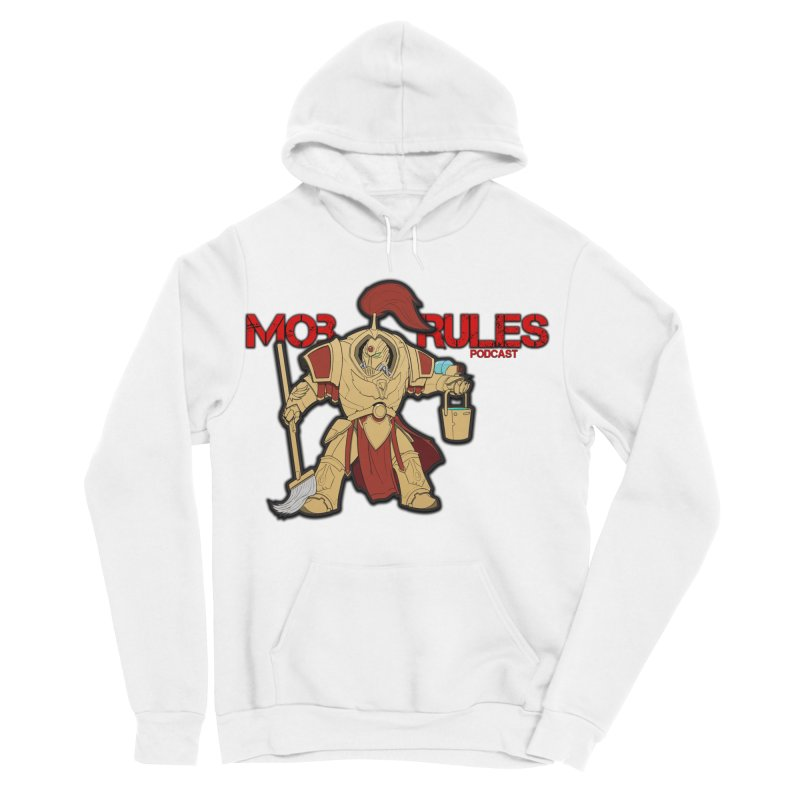 Jeff the Custodes 2.0 Mob Rules Logo Men's Sponge Fleece Pullover Hoody by Mob Rules Podcast
