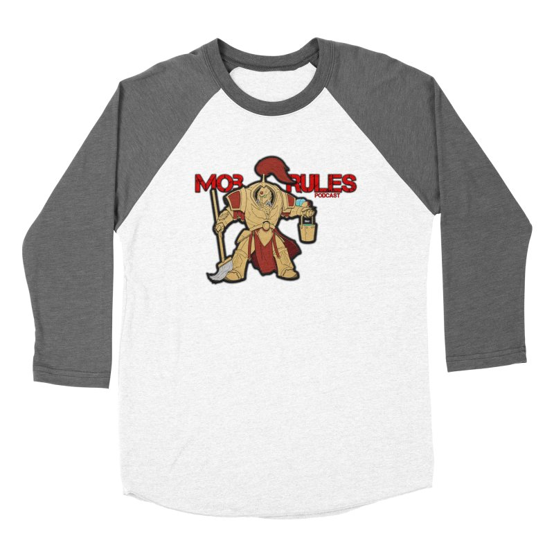 Jeff the Custodes 2.0 Mob Rules Logo Women's Longsleeve T-Shirt by Mob Rules Podcast