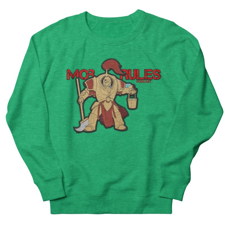 Jeff the Custodes 2.0 Mob Rules Logo Women's Sweatshirt by Mob Rules Podcast